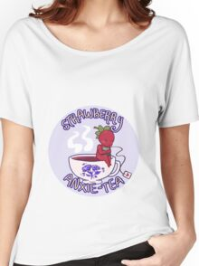 Strawberry of Anxie-tea Women's Relaxed Fit T-Shirt