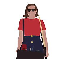 Peggy Olson Photographic Print