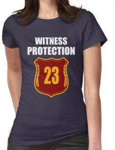 """""""Witness"""" Protection Inverse - We are all witnessnes Womens Fitted T-Shirt"""