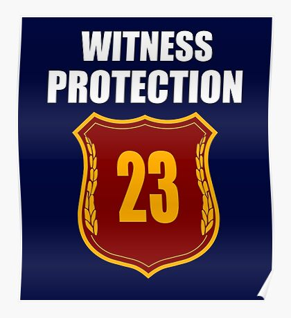 """Witness"" Protection Inverse - We are all witnessnes Poster"