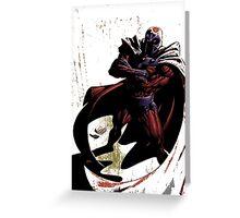 Magneto Greeting Card