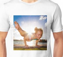 Dwi Pada Koundinyasana at Sunset Unisex T-Shirt