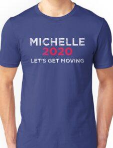 Michelle 2020 Distressed  Unisex T-Shirt