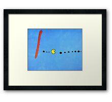 Pac Miro Framed Print