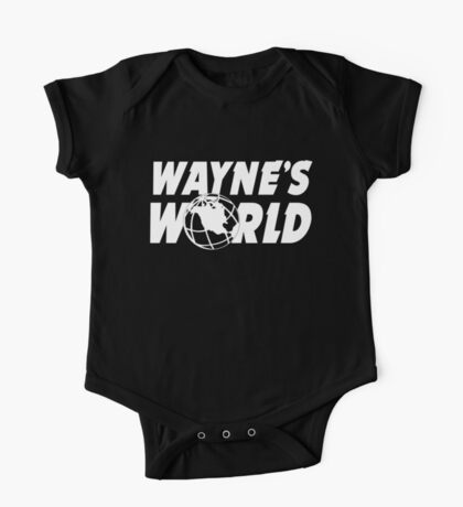 Wayne's World Logo One Piece - Short Sleeve
