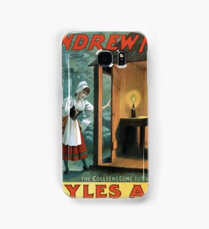 Performing Arts Posters The singing comedian Andrew Mack in the greatest of Irish plays Myles Aroon 1802 Samsung Galaxy Case/Skin