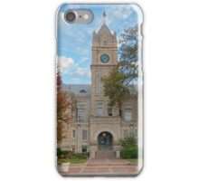 Riley County Courthouse, Kansas iPhone Case/Skin