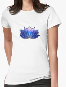 Lotus Blossom Womens Fitted T-Shirt