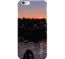 Night Lights on the Water iPhone Case/Skin