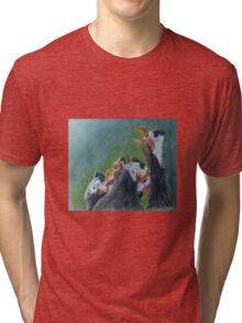 The Committee - Guinea Fowl Tri-blend T-Shirt