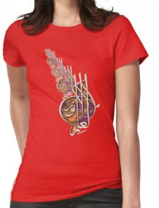 knowledge is light shirt desin            Womens Fitted T-Shirt