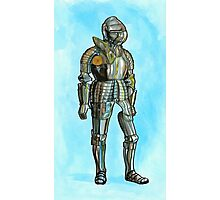 Ghost in armor Photographic Print