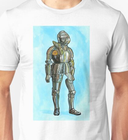 Ghost in armor Unisex T-Shirt