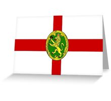 Alderney Flag Greeting Card