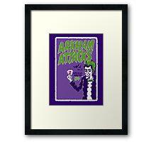 Joker Attacks Framed Print
