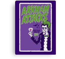 Joker Attacks Canvas Print