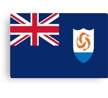 Anguilla Flag Canvas Print
