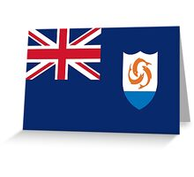 Anguilla Flag Greeting Card