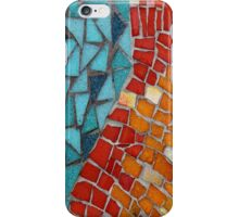 Red or Aqua - JUSTART © iPhone Case/Skin