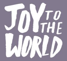 Joy to the World II Kids Tee