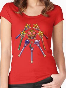 Henshin Items S Women's Fitted Scoop T-Shirt