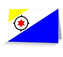Bonaire Flag Greeting Card