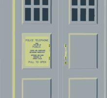 MY MASTERS TARDIS 1 Sticker