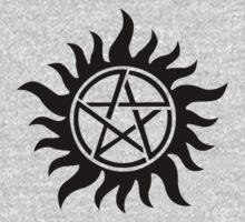 Supernatural inspired Anti-Possession Symbol Tattoo Kids Clothes