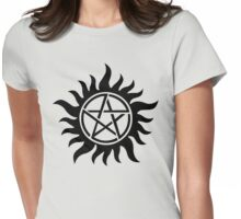 Supernatural inspired Anti-Possession Symbol Tattoo Womens Fitted T-Shirt