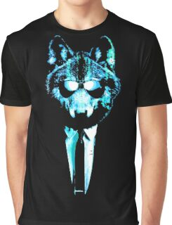 Super Chill Ice Wolf Graphic T-Shirt