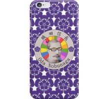 The Japanese Warlord Oda Nobunaga iPhone Case/Skin