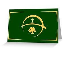 Victoria Flag Greeting Card