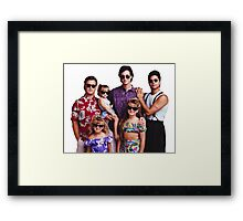 Full House - Thug Life Framed Print