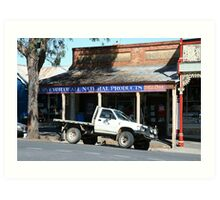 Country transport, Castlemaine Victoria Art Print