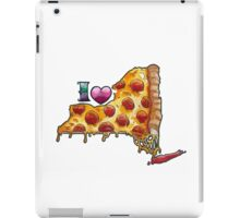 I Love NY Pizza iPad Case/Skin