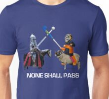 None Shall Pass - White Unisex T-Shirt