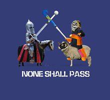None Shall Pass - White Unisex T-Shirt