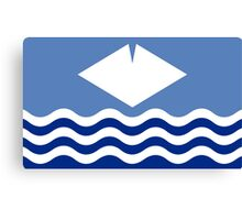 Isle Of Wight Flag Canvas Print