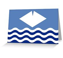 Isle Of Wight Flag Greeting Card