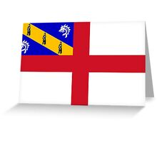 Herm Flag Greeting Card