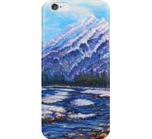 Majestic Peak - futurism iPhone Case/Skin
