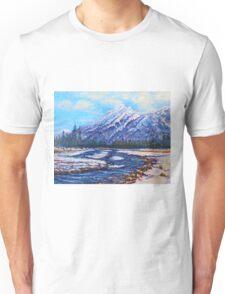 Majestic Peak - futurism Unisex T-Shirt