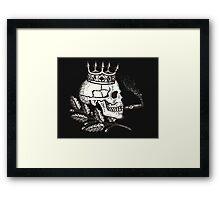 Russian Skull Framed Print