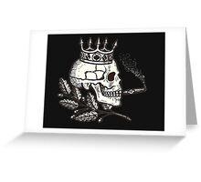 Russian Skull Greeting Card