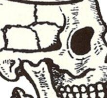 Russian Skull Sticker