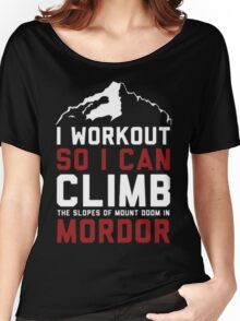 Funny workout Women's Relaxed Fit T-Shirt