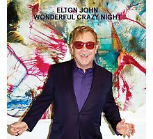 ELTON JOHN - WONDERFUL CRAZY NIGHT Photographic Print