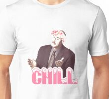 """Phil Says """"Chill"""" Unisex T-Shirt"""