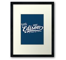 Vote Edison Framed Print