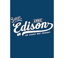 Vote Edison Photographic Print